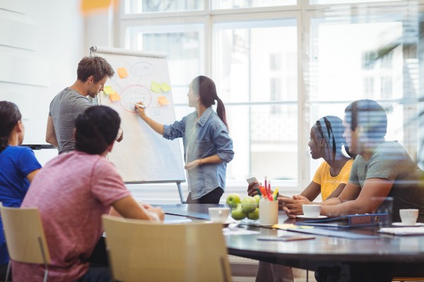Positive company culture includes taking all ideas in consideration