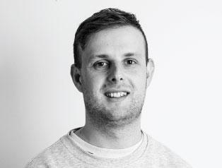 Business development manager Chris Harding