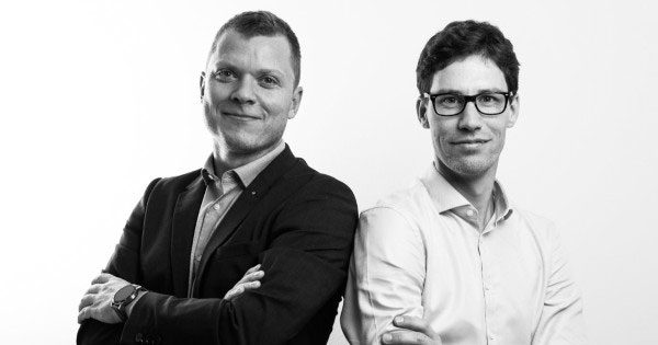 Taia Translations co-founders Marko Hozjan and Matija Kovac